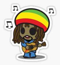 Reggae Man Sticker