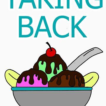 Taking Back Sunday - Ice Cream Sundae (WHITE) by JoeIbraham