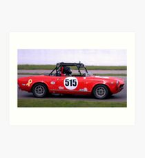 Mosport 2012.. No 9 in the series....... Art Print