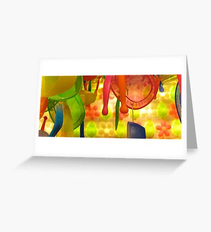 the plastic forest Greeting Card