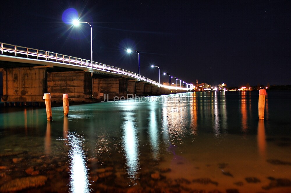 Forster NSW Australia, at night.  by JLeePhotography