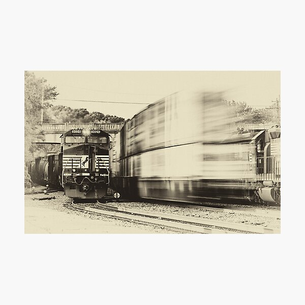 Passing By Photographic Print
