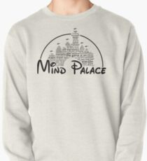 Mind Palace - (black text) Pullover