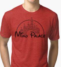 Mind Palace - (black text) Tri-blend T-Shirt
