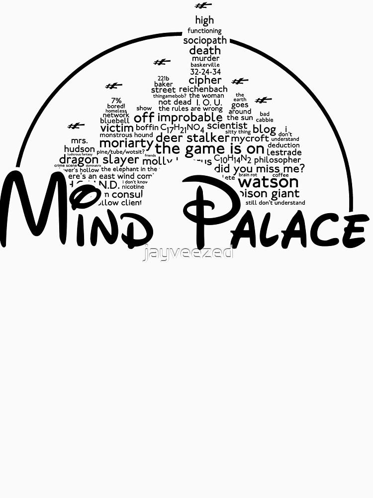 Mind Palace - (black text) | Unisex T-Shirt