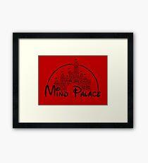 Mind Palace - (black text) Framed Print