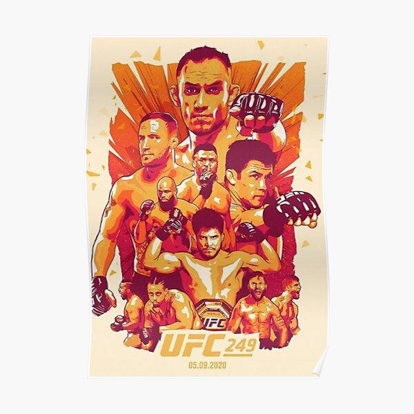 UFC 249 FERGUSON VS GAETHJE Poster