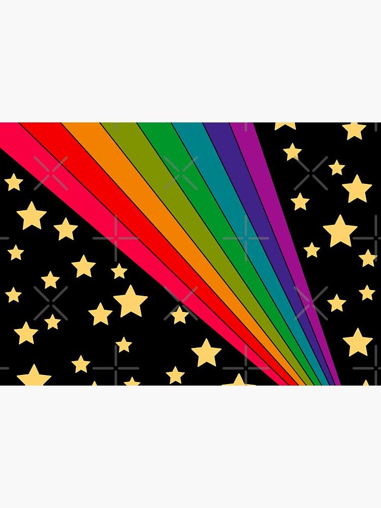 Stars and rainbow  by MissPennyLane