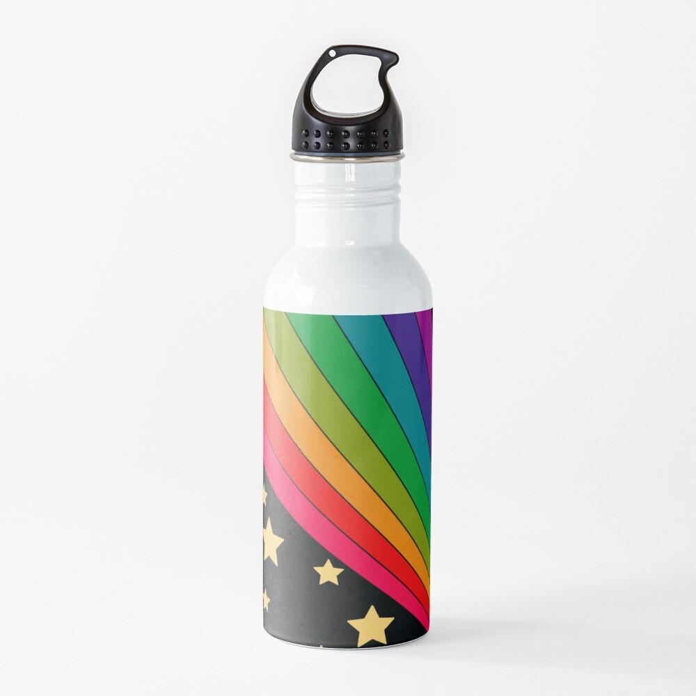 Stars and rainbow  Water Bottle