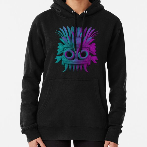 God of Rain (Tlaloc) Pullover Hoodie