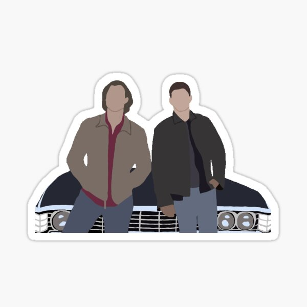 Sam and Dean Sticker