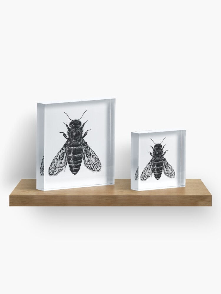 Alternate view of Bee All Things Acrylic Block