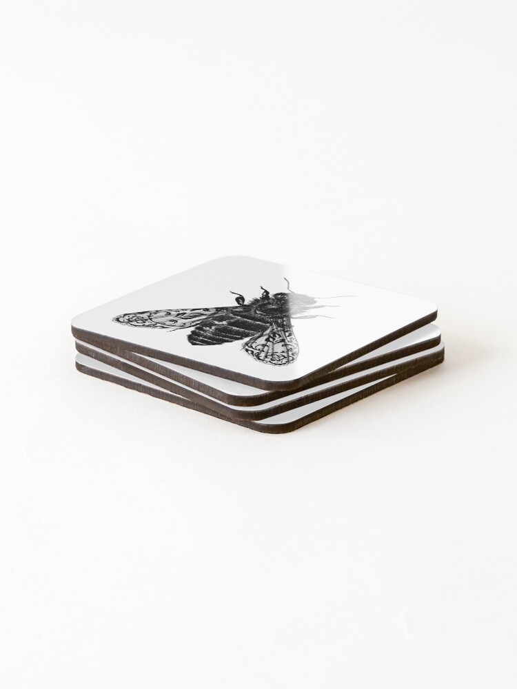 Alternate view of Bee All Things Coasters (Set of 4)