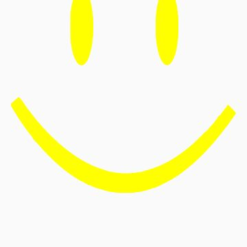 YELLOW SMILEY FACE by customclothes
