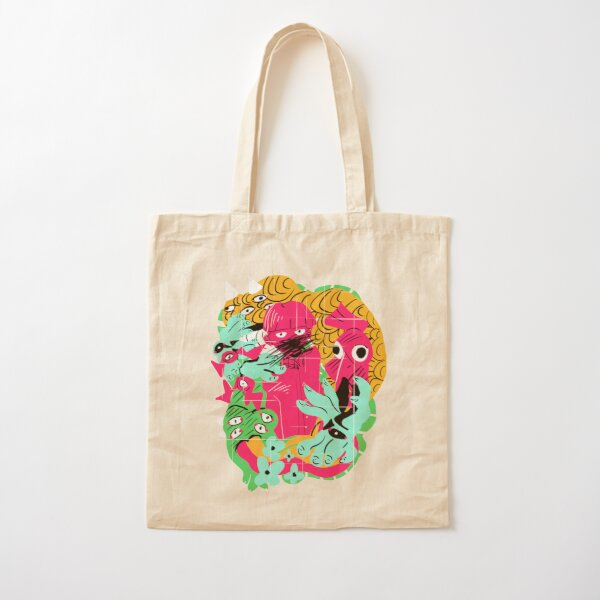 Evil Spirits Cotton Tote Bag