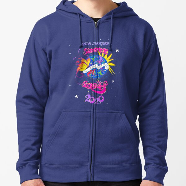 "Katreece Montgomery ""Beautiful Earth"" Summer Solstice Celebration 2020 Zipped Hoodie"