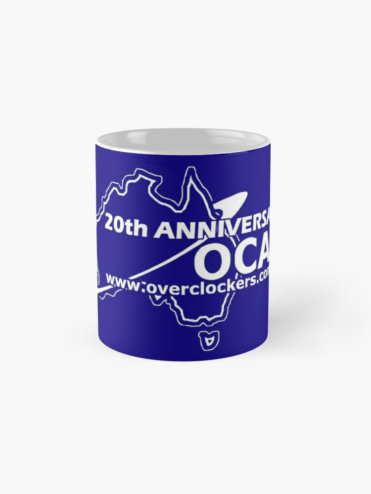 Alternate view of OCAU Blue Single Logo Mug Design Mug