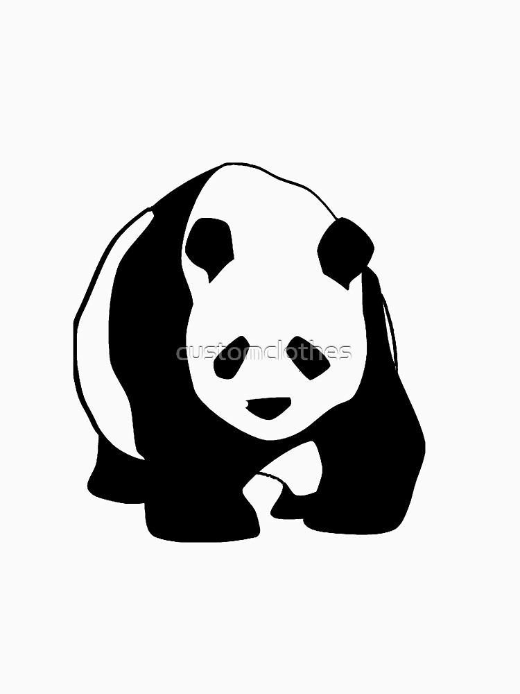 LONE PANDA by customclothes