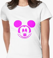 PINK MOUSE Women's Fitted T-Shirt