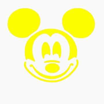 YELLOW MOUSE by customclothes