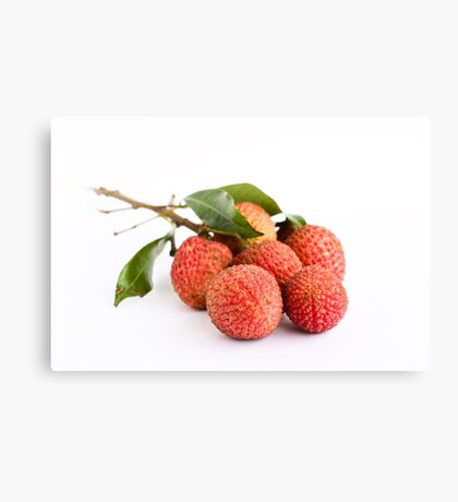Lichi Fruit Canvas Print