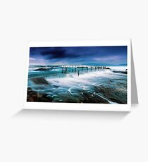 Tempest at the Baths Greeting Card