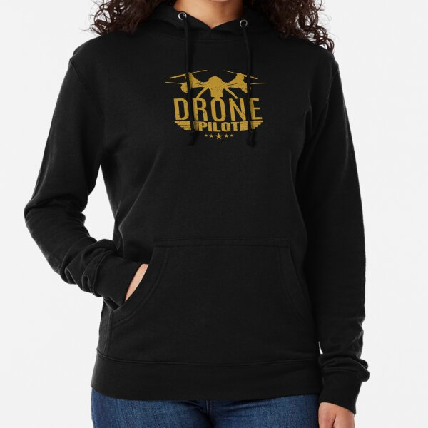 Gift Drone Funny UAV Hobby x9 Colours My Drone Is Above You Kids Hoodie
