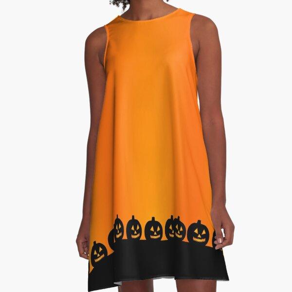 Jack-O'-Lanterns A-Line Dress