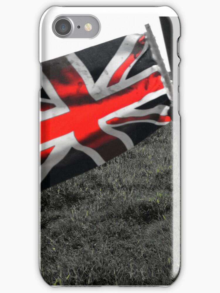 Union Jack iPhone Case by samsphotos12