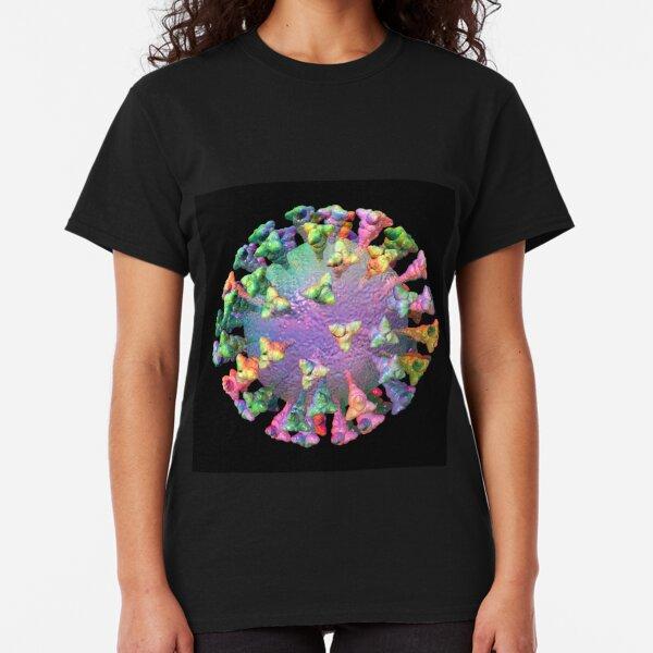 Coronavirus Rainbow Virus Classic T-Shirt