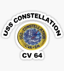 USS Constellation (CV-64) Sticker
