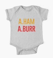 A.Ham & A.Burr One Piece - Short Sleeve