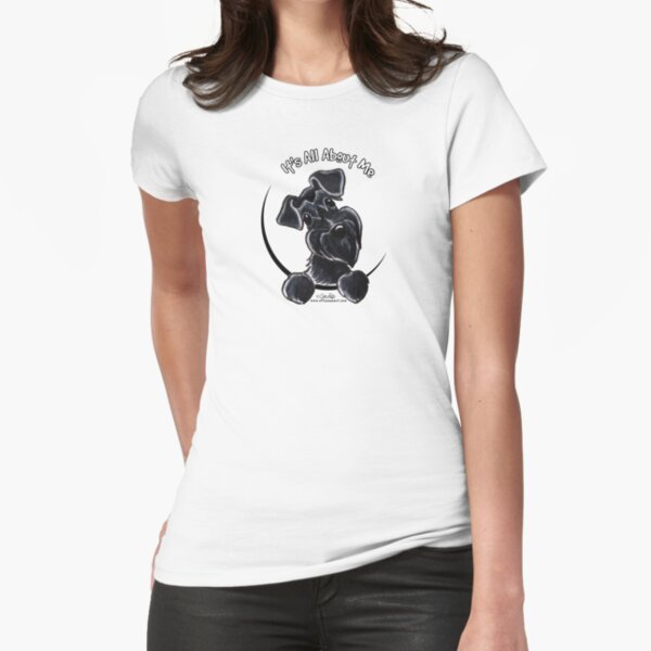 Black Schnauzer :: It's All About Me Fitted T-Shirt