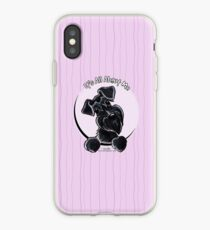 Black Schnauzer :: It's All About Me iPhone Case