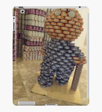 Can Sculpture, Canstruction, Sculptures Made of Cans, New York City iPad Case/Skin