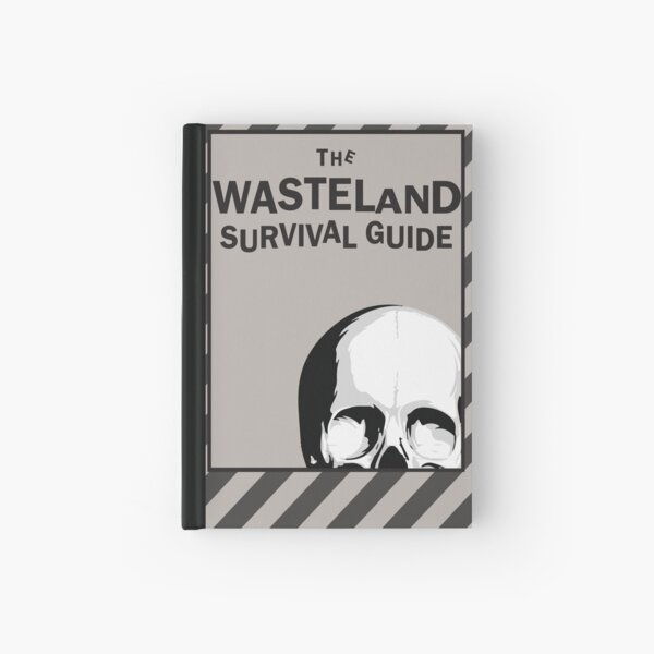 WASTELAND SURVIVAL GUIDE Hardcover Journal