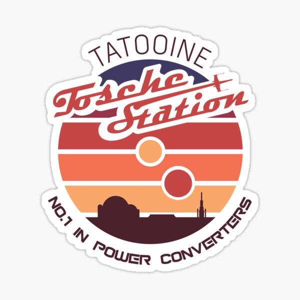 Tosche Station Power Converters Sticker