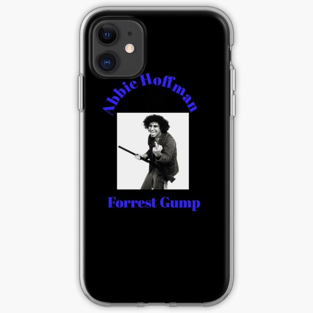 abbie hoffman forrest gump t-shirts iPhone Case & Cover