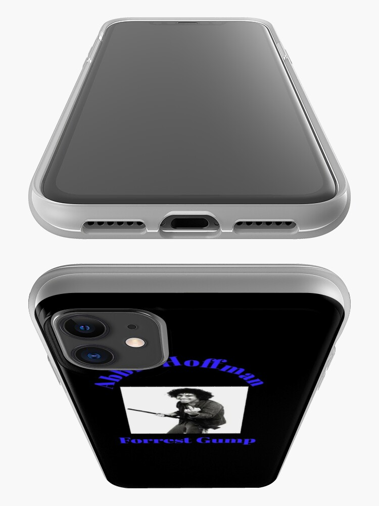 Alternate view of abbie hoffman forrest gump t-shirts iPhone Case & Cover
