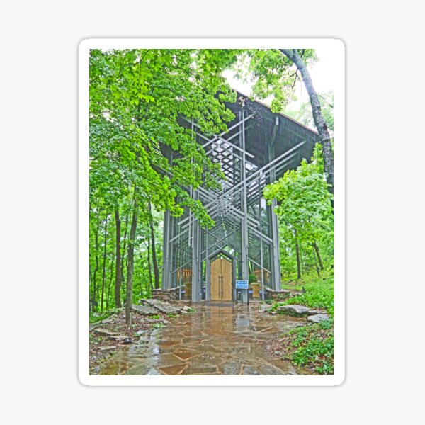 Thorncrown Chapel, Eureka Springs Sticker