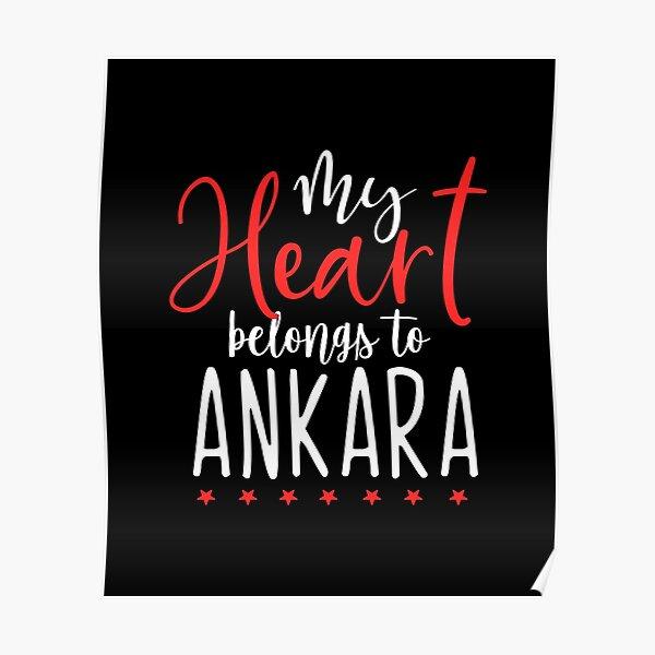 My Heart Belongs To Ankara Poster