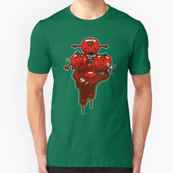 Food Fight Slim Fit T-Shirt