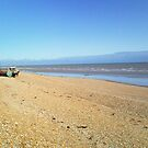 Boat on the Beach by HeatWave
