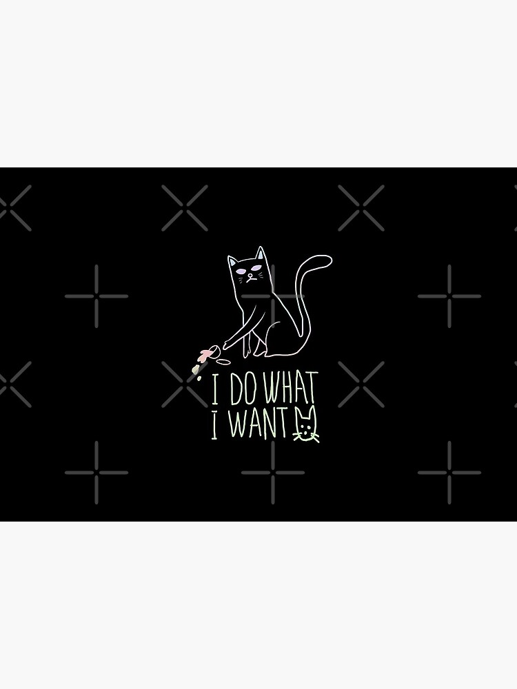 I do what I want cat by didssph