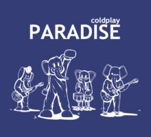 Paradise Elephants (White) - Coldplay
