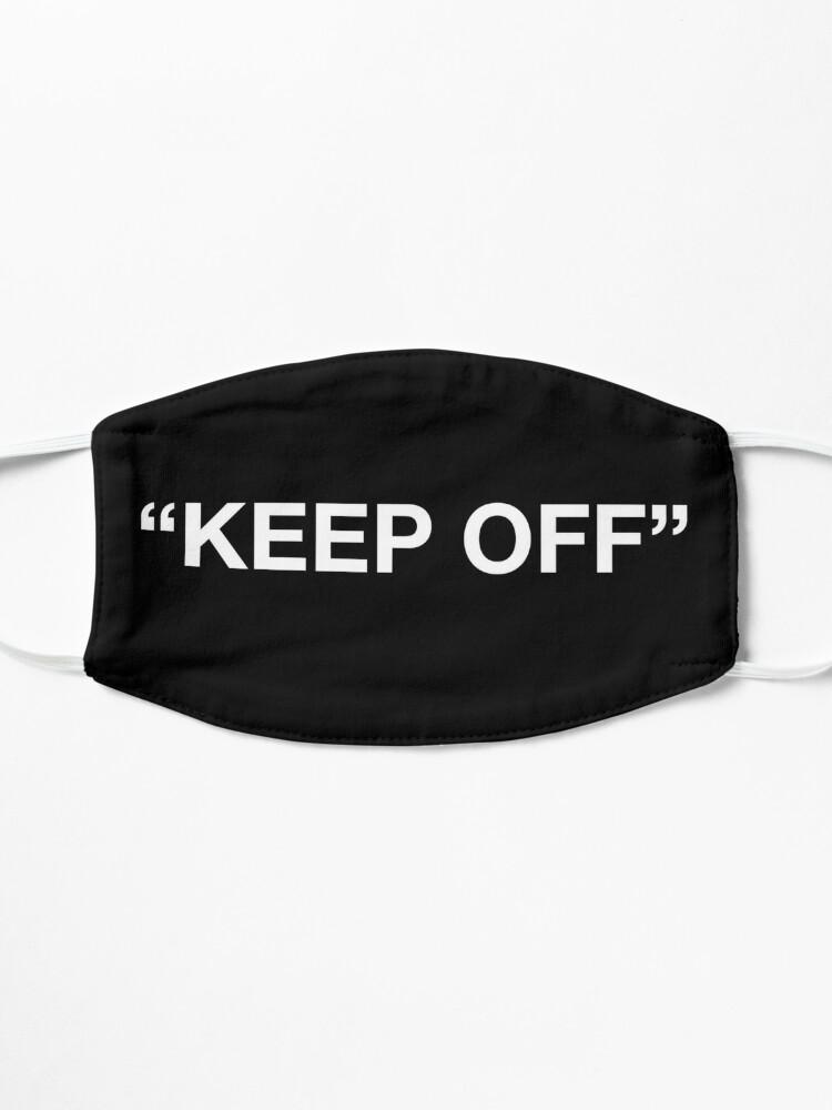 Alternate view of Virgil Abloh - Keep Off - WHITE Mask