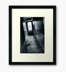 Corridor Framed Print