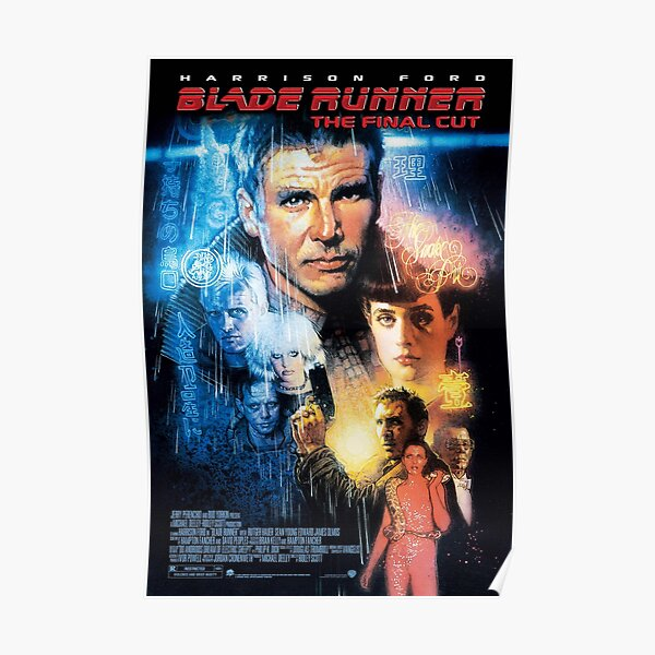 Affiche BladeRunner Final Cut Poster