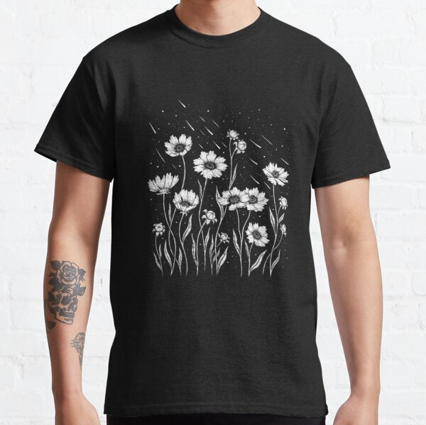 Midnight Golden Waves Classic T-Shirt
