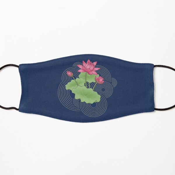 Pink Lotus Kids Mask